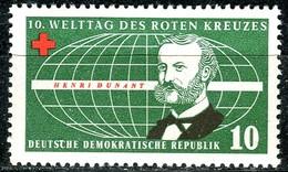A12-49-7) DDR - Mi 572 - ** Postfrisch (B) - 10Pf    Welttag Des Roten Kreuzes - [6] République Démocratique