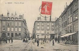 SEDAN (Ardennes) - PLACE Du RIVAGE - Animée - Voyagée Le 26 Juin 1910 - Sedan