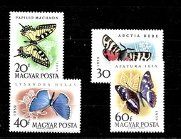 Serie De Hungría Nº Yvert 1321/24 ** - Hungría