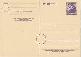 Ganzsache Sow. Zone  Michel  P 4c **  ( € 10,-) - Zone Soviétique