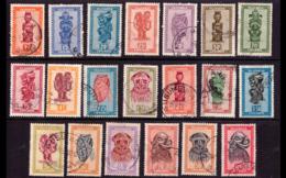 Ruanda 0154/72 (o) Artisanat Et Masques - Ruanda-Urundi