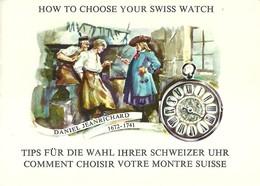 """2030 """"BROCHURE 1964:HOW TO CHOOSE YOUR SWISS WATCH-COME SCEGLIERE IL VOSTRO OROLOGIO SVIZZERO """" ORIGINALE - Jewels & Clocks"""