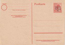 Ganzsache Sow. Zone (Michel  P 32  (ANS Ohne)    ( € 15,-) - Zone Soviétique