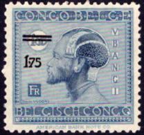 Congo 0134 Vloors Surchargé Sans Gomme / Without Gum - Belgisch-Kongo