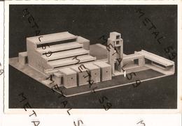 Maretz, Maquette De La Nouvelle Chapelle De L'institut Don Bosco, Pierre Pinsard Architecte - Autres Communes
