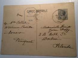 MONACO Prince Louis II 1941 Entier Postal RARE 80c CENSURE > Ireland (GB WW2 Censored Cover Lettre Postal Stationery - Postal Stationery