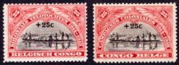 Congo 0132/33** MNH - 1923-44: Neufs