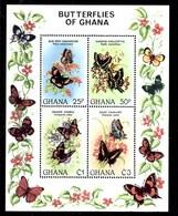 Hoja Bloque De Ghana Nº Yvert HB-93 ** MARIPOSAS (BUTTERFLIES) - Ghana (1957-...)