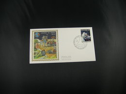 """BELG.1972 1621 FDC BRUSSEL Zijde/soie """"Dag Van De Postzegel - Journée Du Timbre """" - FDC"""