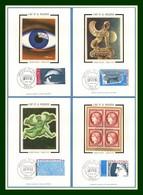 Carte Maximum France N° 1834 à 1837 Arphila 6 Juin 1975 (à Profiter Cote XX) ! - Maximum Cards