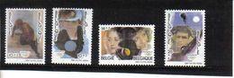 2439/2442 OLYMPISCHE SPELEN POSTFRIS** 1992 - Belgique