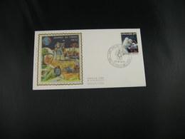 "BELG.1972 1621 FDC SINT DENIJS WESTREM Zijde/soie ""Dag Van De Postzegel - Journée Du Timbre "" - FDC"