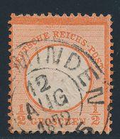 90750) Dt.Reich 1872, Mi. 3 Gestempelt, Gut Geprägt, K2 (Holz) MINDEN, Mi.55€+ - Germany