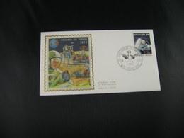 """BELG.1972 1621 FDC EERNEGEM Zijde/soie """"Dag Van De Postzegel - Journée Du Timbre """" - FDC"""