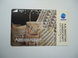 INDONESIA USED CARDS  POPULAR ART   2 SCAN - Indonesia