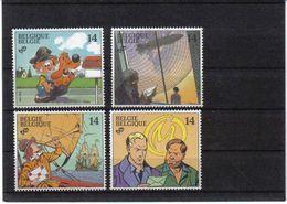 2428/2431 STRIPS POSTFRIS** 1991 - Belgium