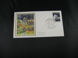 """BELG.1972 1621 FDC TONGEREN Zijde/soie """"Dag Van De Postzegel - Journée Du Timbre """" - FDC"""