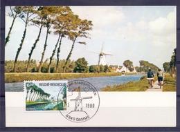 Belgie - Windmolen 17-5-1980 - Gezicht Op De Damse Vaart - Maximafielen - Zie Scan - Damme