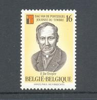 2596 Dag Van De Postzegel  Postfris** 1995 - Belgien
