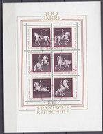 ÖSTERREICH Block 2, Gestempelt, 400 Jahre Spanische Reitschule, 1972 - Blocks & Sheetlets & Panes