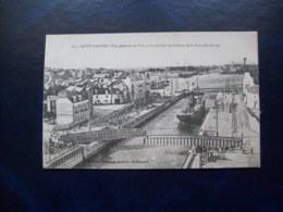 Carte Postale Ancienne De Saint-Nazaire: Vue Générale Du Port, Prise Du Bout De L'Ecluse De La Nouvelle Entrée - Saint Nazaire