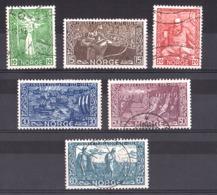 Norvège - 1941 - N° 213 à 218 - Neufs * Et Oblitérés - 700 Ans Mort De Snorre Stularson - Gebraucht