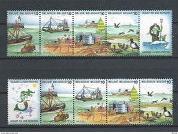 2273B/2276B DE ZEE  POSTFRIS** 1988 - Belgique