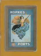 Kopre's Ports.Port Wines.Drinks.Calendar C.N.Kopke & Cª 1988.Kopre Häfen.Portweine.Getränke.Kalender C.N.Kopke & Cª.2scn - Liqueur & Bière