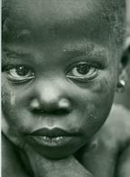 Photo Zaïre Visage D'une Petite Fille Zaïroise 1988 Congo Photo-service PP. Blancs - Afrique