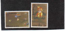2323/2324 Europa POSTFRIS** 1989 - Belgique