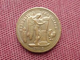 FRANCE Jeton Dit De Maison Close 1902 Superbe état - Monetary / Of Necessity