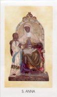 Settefrati (Frosinone) - Santino SANT'ANNA Santuario Di Canneto - PERFETTO P87 - Religione & Esoterismo