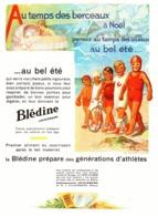"""PUB    """" BLEDINE JACQUEMAIRE """"  Par  """" Henry Le Monnier """"  1930  ( 1 ) - Publicité"""
