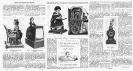 LES JOUETS MECANIQUES D'AUTREFOIS   1914 - Other Collections