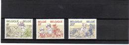 2086/88 VROUWEN  POSTFRIS**  1983 - Belgique