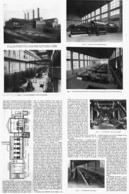 """LA NOUVELLE USINES  De  DISTRIBUTION  D'ELECTRICITE  De """" SAINT-OUEN """" 1914 - Ile-de-France"""