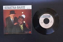 FRANK SINATRA COUNT BASIE RARE  EP HOLLANDAIS 1962  POCHETTE OUVRANTE - 45 Rpm - Maxi-Single
