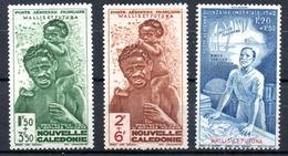 Wallis & Futuna Luftpost Y&T PA 1** - PA 3**, PA 4* - Luftpost
