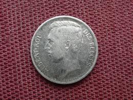 BELGIQUE Monnaie De 50 Cts 1911 Argent - 1909-1934: Albert I