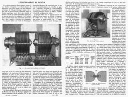 L'ELECTRO-AIMANT Du MUSEUM   1914 - Transport