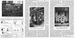LA MECANIQUE Au SERVICE De La TELEPHONIE   1914 - Technical