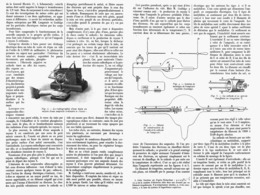 LES AMPOULES à RAYONS X  ( L'ampoule Réglable De M. COOLIDGE )   1914 - Technical