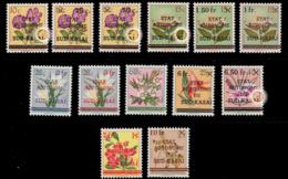 Sud Kasaï 0001/13** Fleurs MNH Curiosirés Sur 4 Timbres - Sud-Kasaï