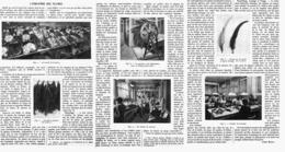 L'INDUSTRIE DES  PLUMES   1914 - Technical