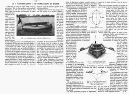 """LE """" FLOTTEUR-CANOT """" Du COMMANDANT De RYCKER   1914 - Transport"""