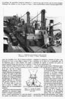 LA MANUTENTION PNEUMATIQUE DES GRAINS   1914 - Technical
