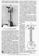 LE BAROMETRE MARIN à EBULLITION   1914 - Technical