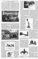 LES NOUVELLES INSTALLATIONS Du LABORATOIRE De MECANIQUE De La FACULTE Des SCIENCES De PARIS   1914 - Technical