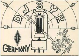 QSL - Funkkarte - DJ3YR - 34613 Treysa - 1959 - Amateurfunk