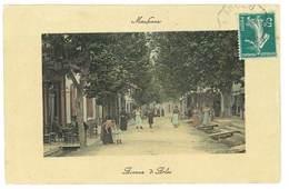 2 Cpa Maussane - Avenue D'Arles - Fontaine Monumentale - France